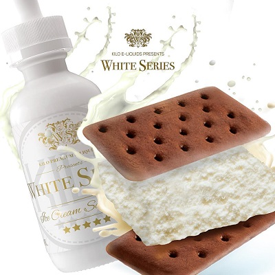KILO WHITE SERIES ICE CREAM SANDWICH