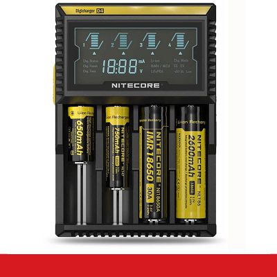 CARGADOR NITECORE DIGICHARGER D4