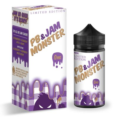 PB & JAM MONSTER GRAPE 100ml