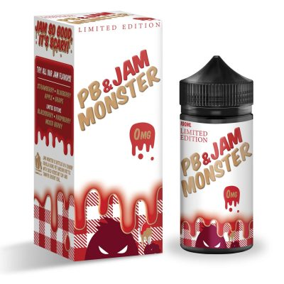 PB & JAM MONSTER STRAWBERRY 100ml