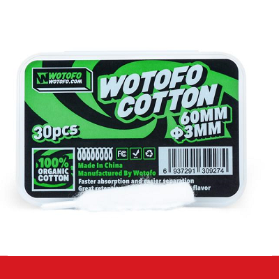 WOTOFO ALGODÓN AGLETED ORGANIC 3MM